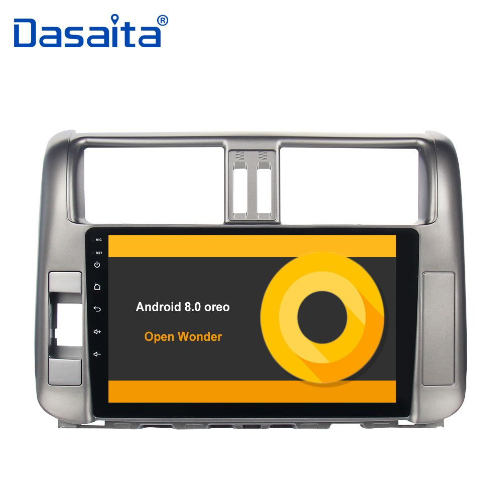 Android 8.0 car autoradio for toyota prado 150 2010 2011 2012 2013 with 9