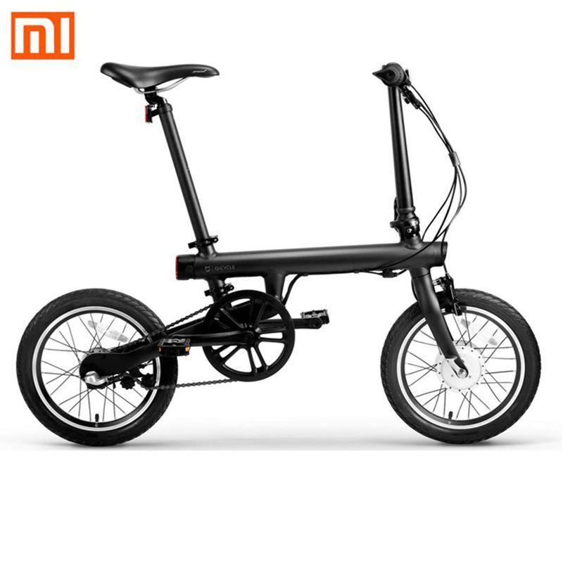 Original Xiaomi QiCYCLE-EF1 Elektrische Fahrrad Bluetooth 4,0 APP Unterstützung 250W Motor Intelligente Klapp Elektrische Fahrrad