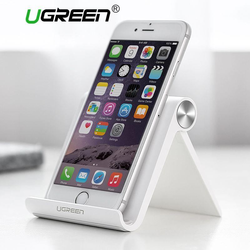 Ugreen Телефон Владельца для iPhone Универсальный Мобильный Телефон Стенд Гибкая Настольная Подставка Держатель для Samsung Xiaomi iPad Tablet PC Стенд