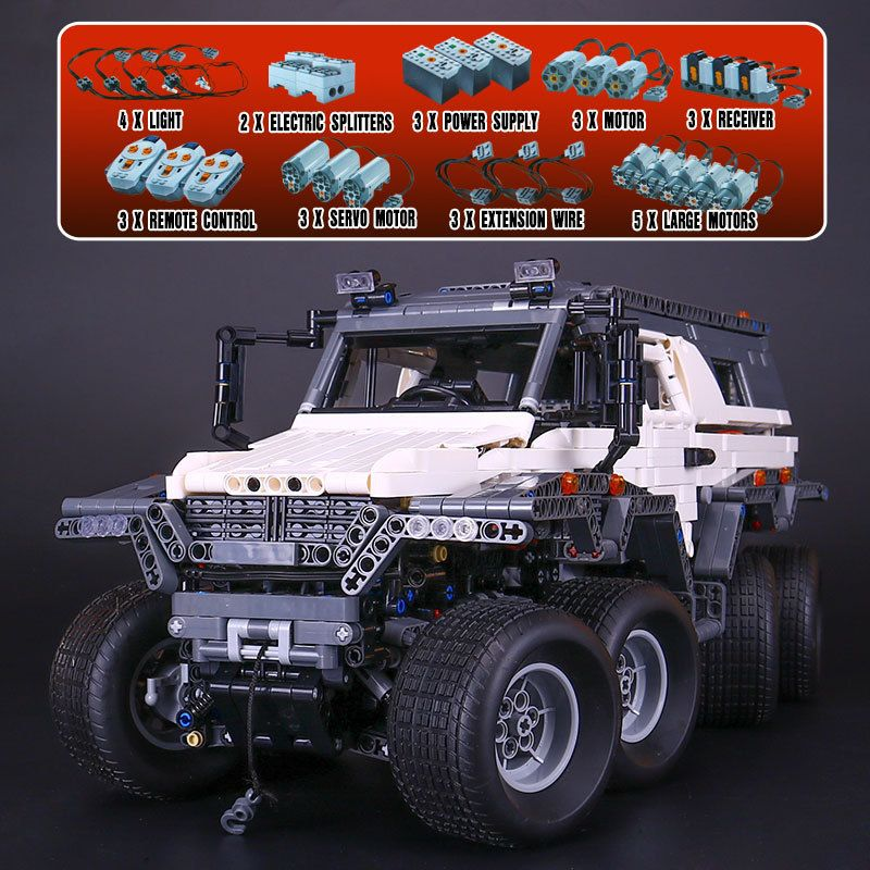 Lepin 23011 23011B Technic Series Off-road Vehicle Model Car Building Kits Block Educational Bricks Compatible Toys Gift 5360