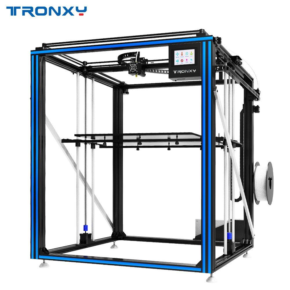 Neueste Größere 3D Drucker Tronxy X5ST-500 Wärme Bett Große Druck Größe 500*500mm DIY kits Mit Touchscreen