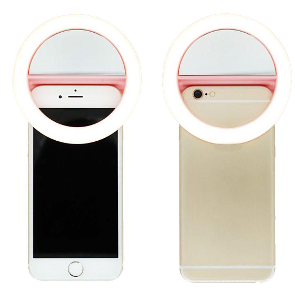 Универсальный Sunlight/теплый свет 4500-7000 К LED фотографии мигающей подсветкой селфи световой ночника телефон кольцо для всех телефона