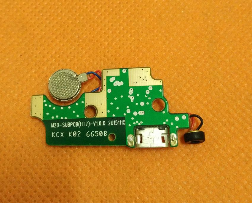 Used Original USB Plug Charge Board For HOMTOM HT7 Pro MTK6735P Quad Core 5.5
