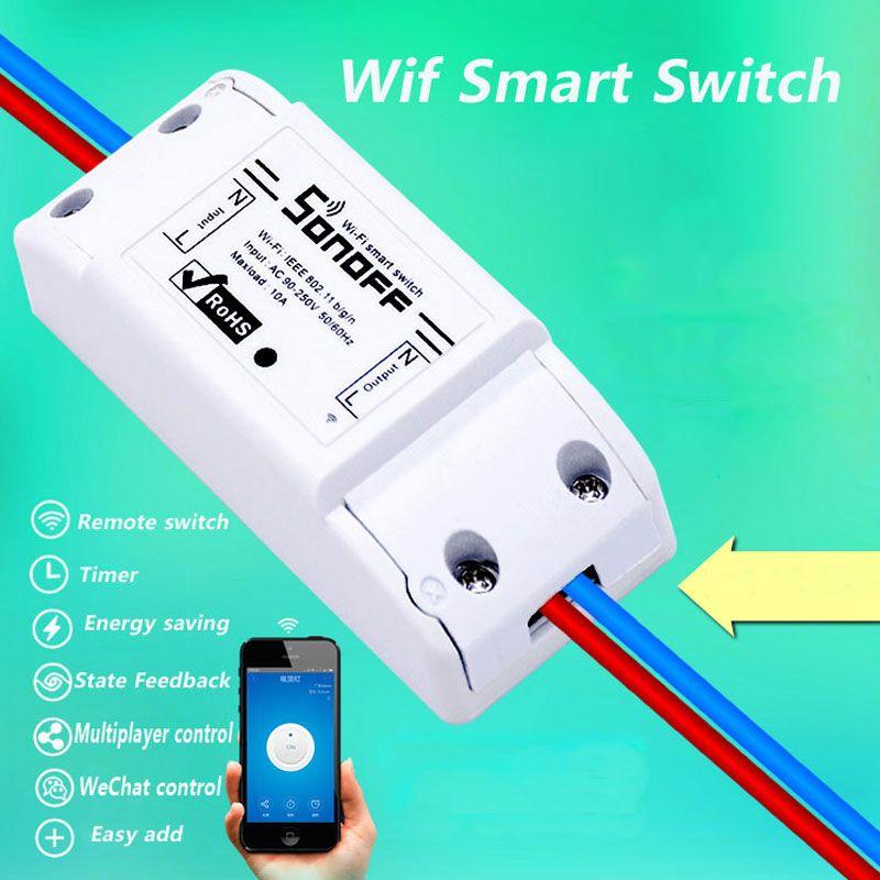 Itead sonoff Smart Remote Control Wifi Switch Wireless Diy Timer Switch,Sonoff S20 EU Smart Wifi Socket,Smart Home 10A/2200W