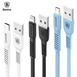 Baseus USB Data Cable De Recharge Chargeur Fil Cordon Micro USB Type De Câble-c Type C Câble Pour iPhone X 8 7 6 iPad Mobile Téléphone câbles