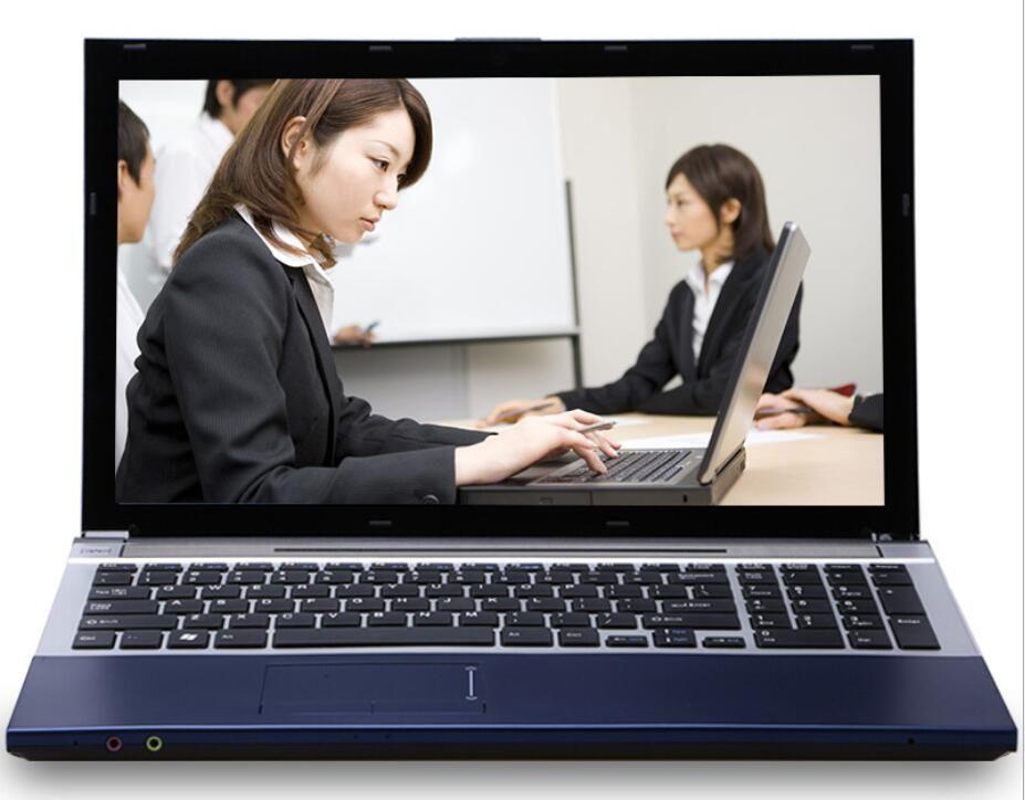 8G RAM+120G SSD+HDD 320G Intel Core i7 CPU Laptops Compute 15.6