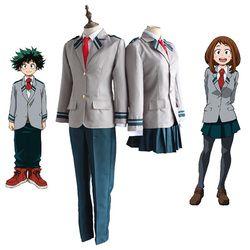 Boku no Hero Academia AsuiTsuyu Yaoyorozu Момо школьная форма мой герой Academia OCHACO URARAKA Midoriya Izuku косплэй костюм