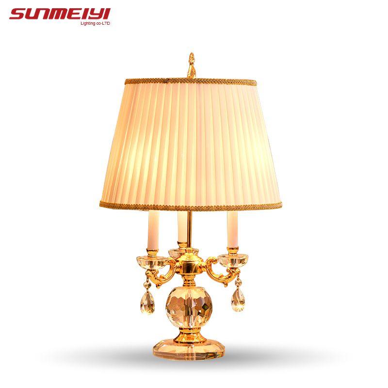 Schlafzimmer Tischleuchte Weiß Stoff Lampenschirm Wohnzimmer Dekoration Abajur tischlampe Für Schlafzimmer Lamparas De Mesa