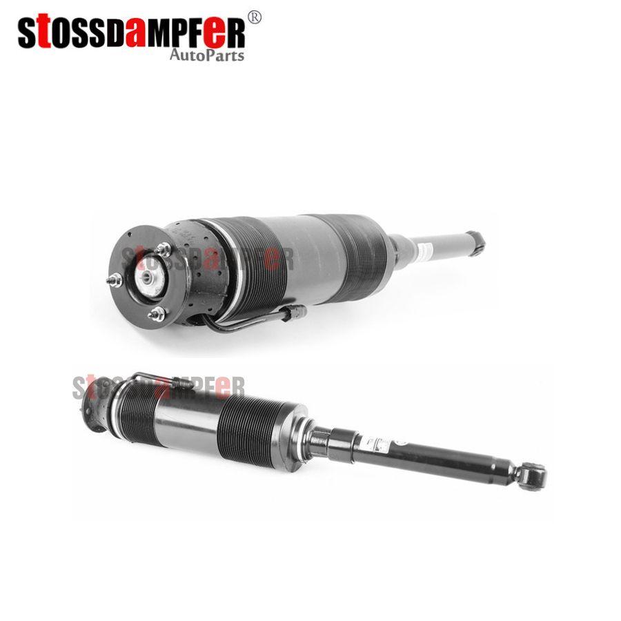 StOSSDaMPFeR 2 stücke Hinten Hydro-Pneumatische Stoßdämpfer Suspension Frühling Fit Mercedes-Benz W220 S600 2203209113 (9213)