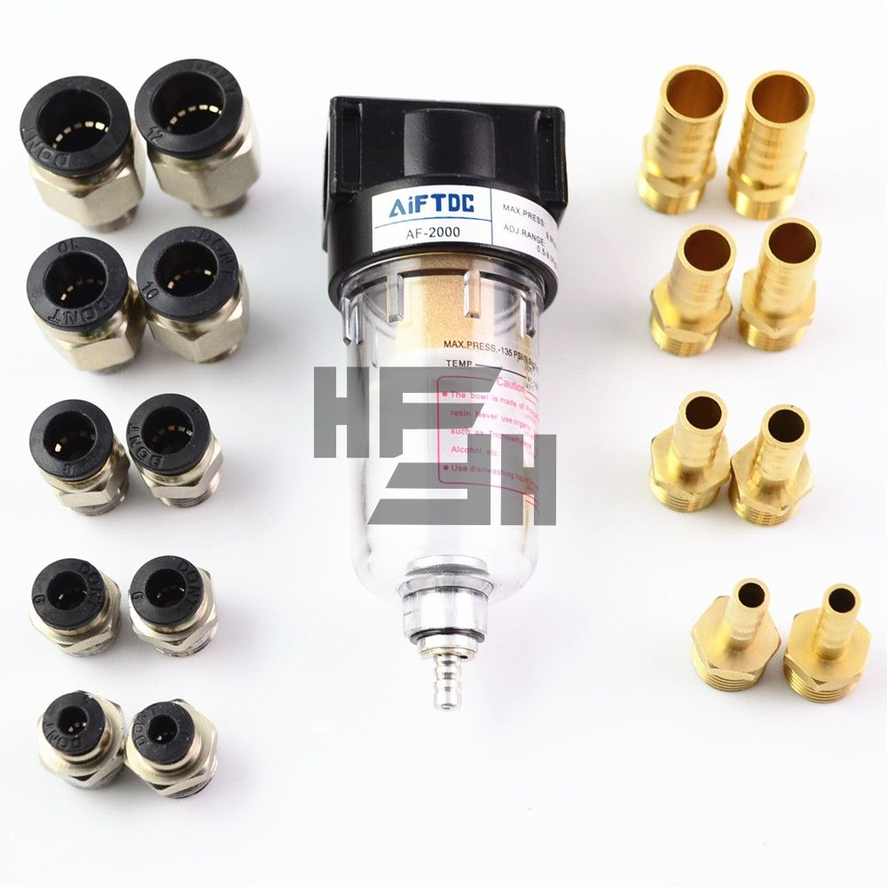 AF2000 Compressor Pressure Regulator Pneumatic Air Filter 1/4