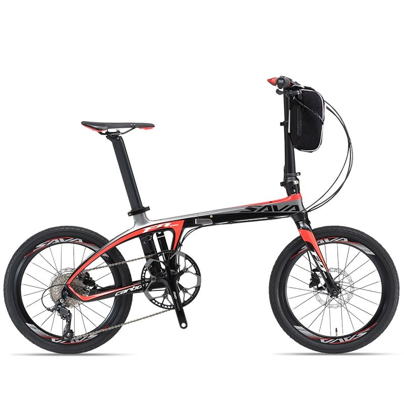 20inch carbon fiber electric bicycle 36V lithium battery 250w high speed motor fold ebike carbon fiber frame 25-35km/h