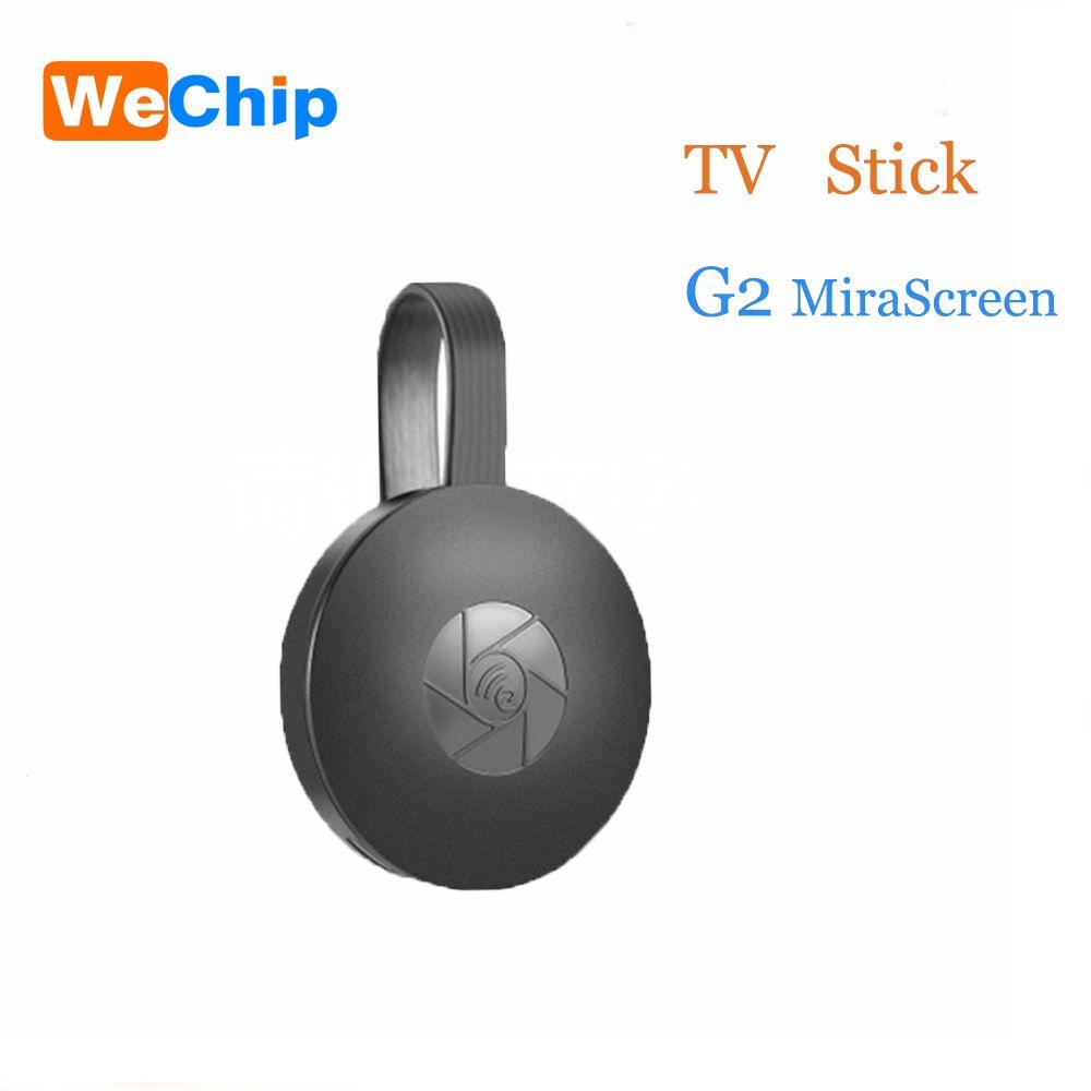 WeChip Wireless MiraScreen G2/G5/L3/L8M/X6L TV Stick 2.4G HDMI 1080P HD TV Dongle Plug And Play Chrome  Google  airplay miracase