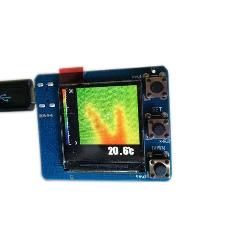 AMG8833 IR Infrarot 8x8 Thermische Imaging Kamera Array Temperatur Sensor Modul Kit FZ3377