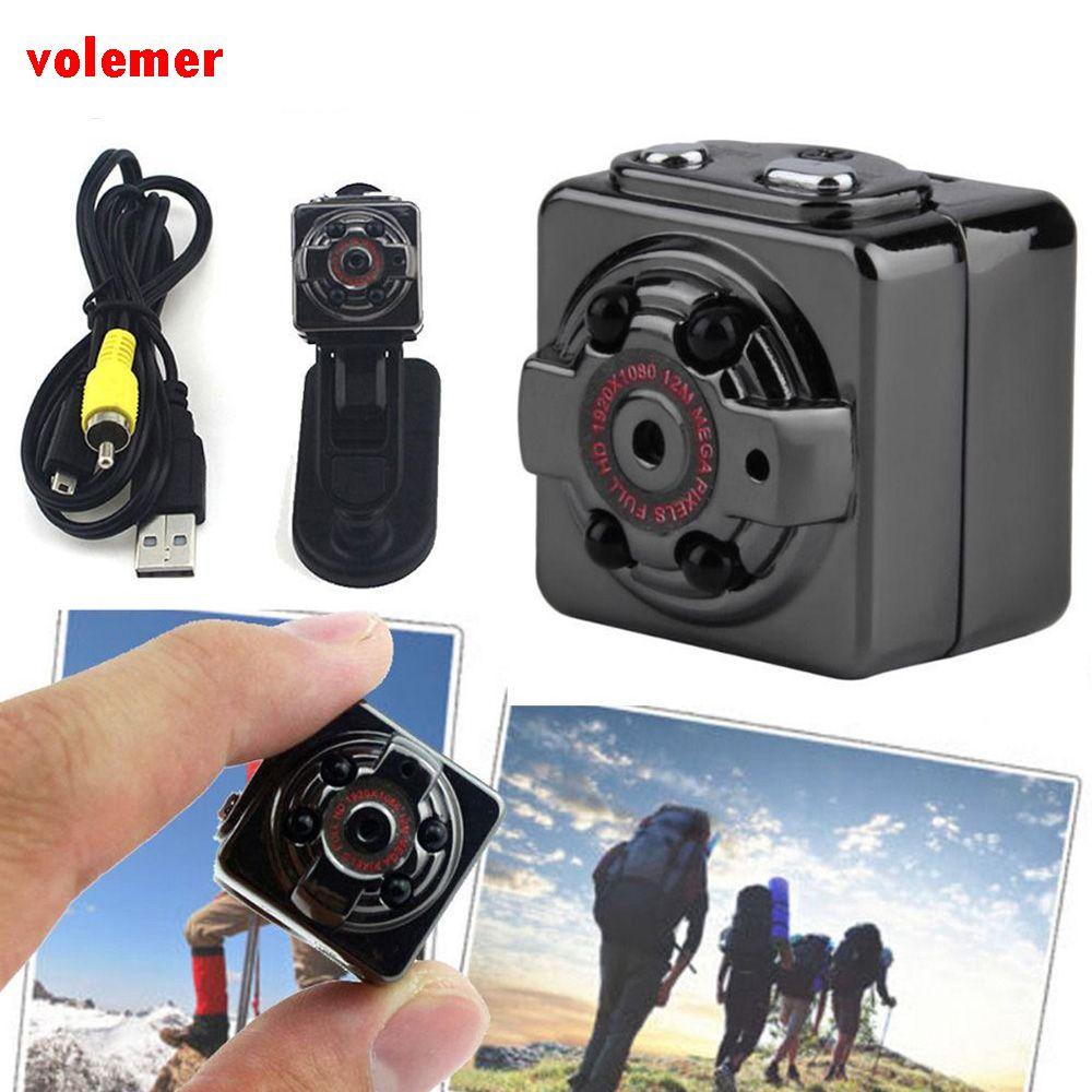 SQ8 Mini Kamera Mit Full HD 1080 P Video Camcorder für computer Bewegungsmelder Nachtsicht Camcorder Kleine Kamera DVR minimer