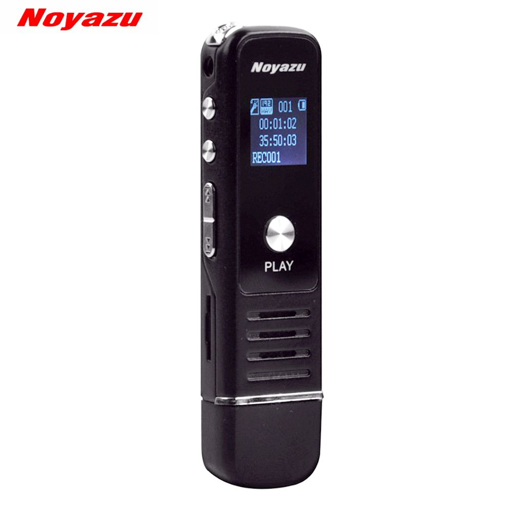 Noyazu 905 Professional Mini 8GB 16GB 32GB USB Digital Audio Voice Recorder Dictaphone MP3 Player Recording Pen Rechargeable