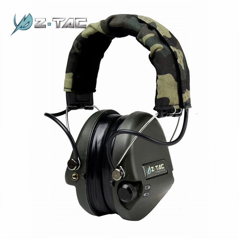 Element Z-Tactical Tactical Noise Reduction Headset Airsoft Paintball Hunting Headsets Headphone Ear Cover Z037*
