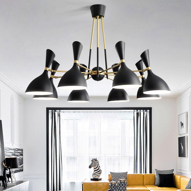 Nordic post-modern hanging lights creative Fixtures Novelty living room chandelier bedroom restaurant LED chandeliers