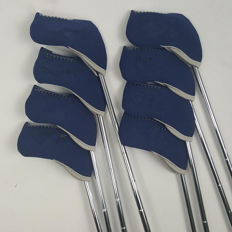 Ensemble de fers de Golf JPX 900 fers de Golf forgés Clubs de Golf 4-9pg arbre en acier souple et rigide avec couvre-tête