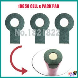 10pcs/alot 18650   insulating PAD battery protection PAD single pad