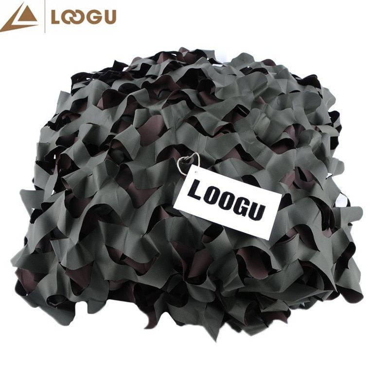 10M*10M Camouflage Net Sun Shelter Hunting Camping Outdoor Beach Sun Shades Net Tent Camouflage Netting 150D Polyester Awning