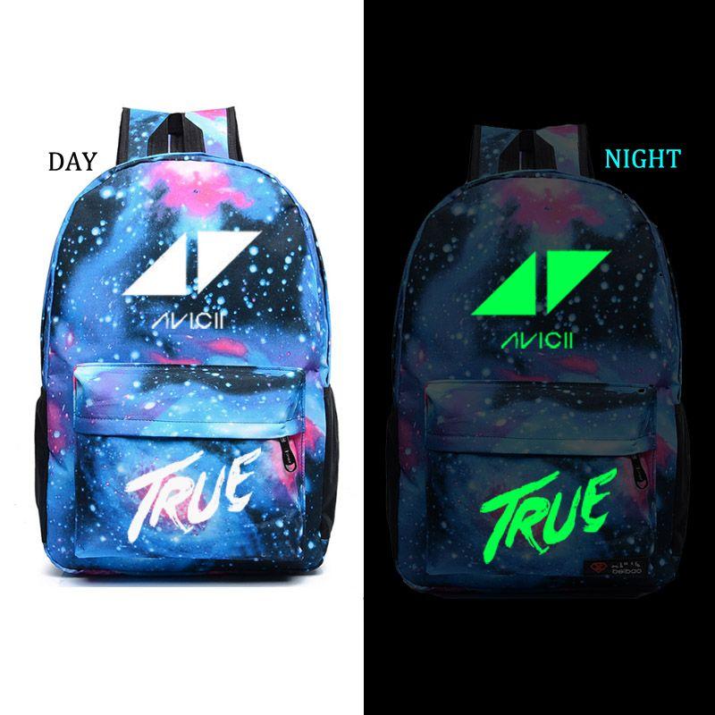 Avicii school bag DJ backpack student school bag Daily backpack men women Rucksack