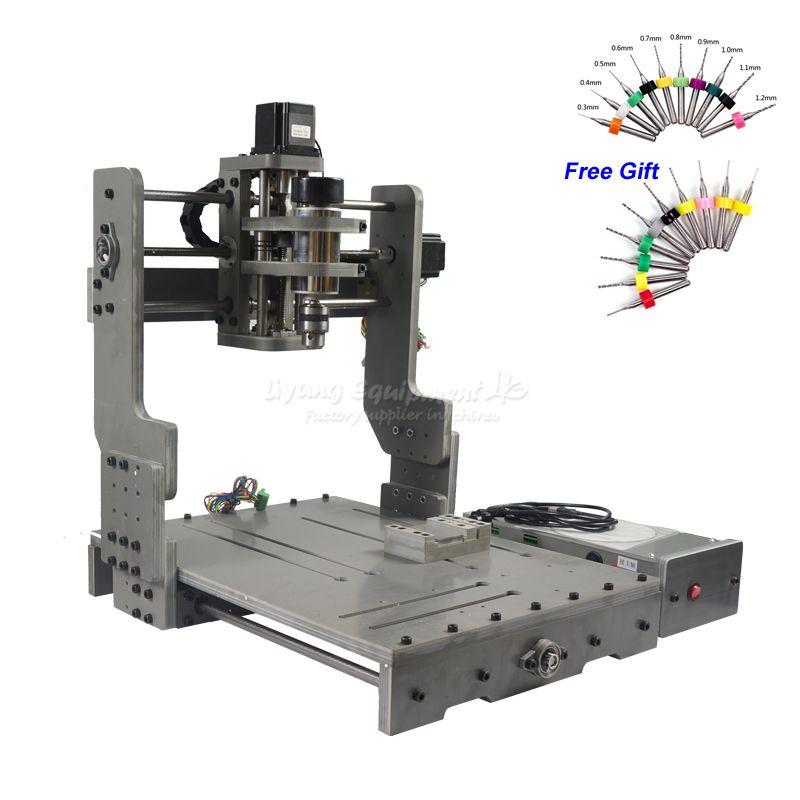 CNC 3040 300 watt DC Power Spindel Motor CNC Gravur Maschine Bohren Router mit Drehachse