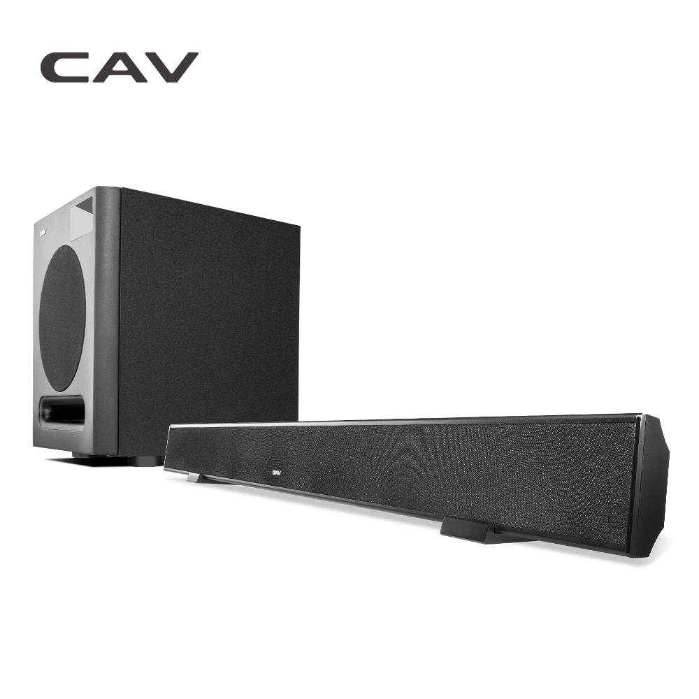 CAV AL90 & SW360B 3.1CH Home Theater 3.1 System Wireless Bluetooth Soundbar Speaker with Subwoofer 3D Surround Sound Column
