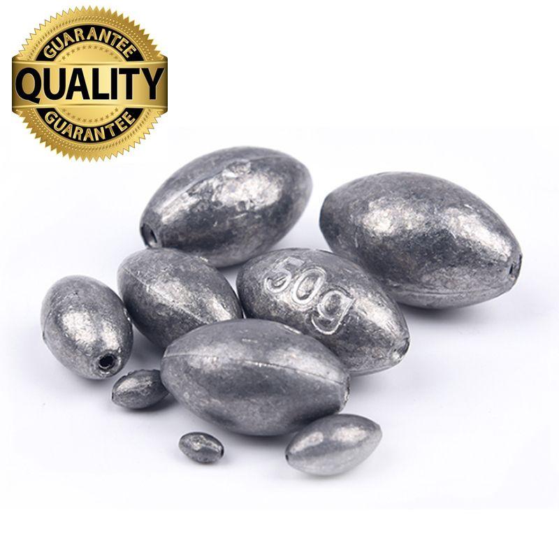 Livraison Gratuite Plombs/Poids De Pêche S'attaquer Accessoires olive en Ligne De Pêche Plombs 1g 1.5g 2g 3g 4g 5g 6g 10g