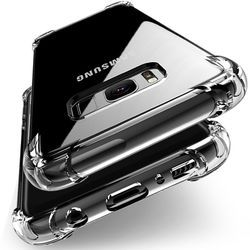 Antichoc Effacer Souple En Silicone Armure Cas pour Samsung Galaxy A8 Plus A5 A7 J2 Pro 2018 J3 J5 J7 2017 s6 S7 S8 S9, Plus La couverture arrière