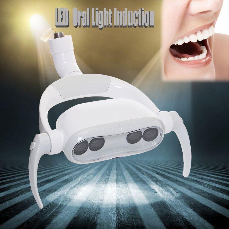 15W Dental LED Teeth Lamp Oral Cold Light LED Induction For Dental Unit Chair Tool AC12V