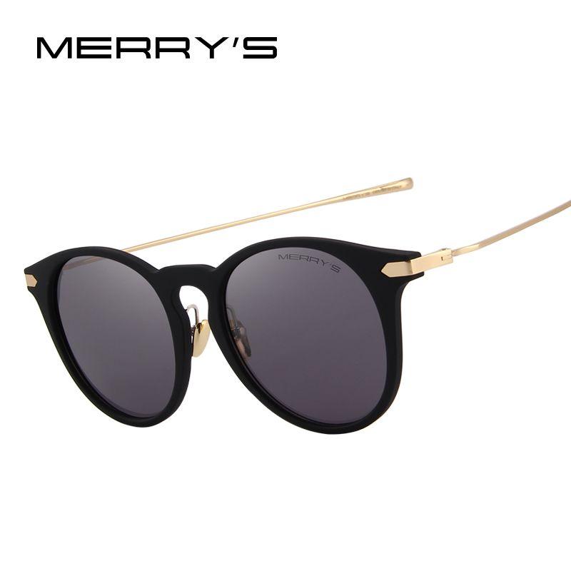 MERRY'S Cat Eye Polarized Sunglasses Women Brand Designer Sunglasses 100% UV Protection S'6101