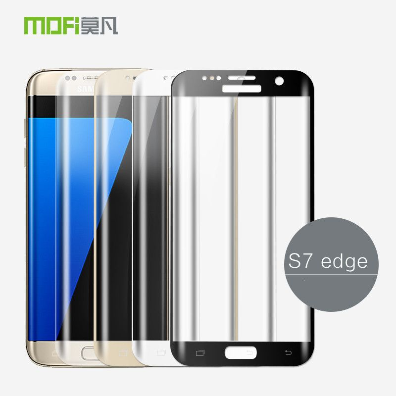 For Samsung Galaxy S7 Edge Glass Tempered 3D Curved Full Cover Protective Film S7edge Screen Protector S7 Edge Tempered Glass