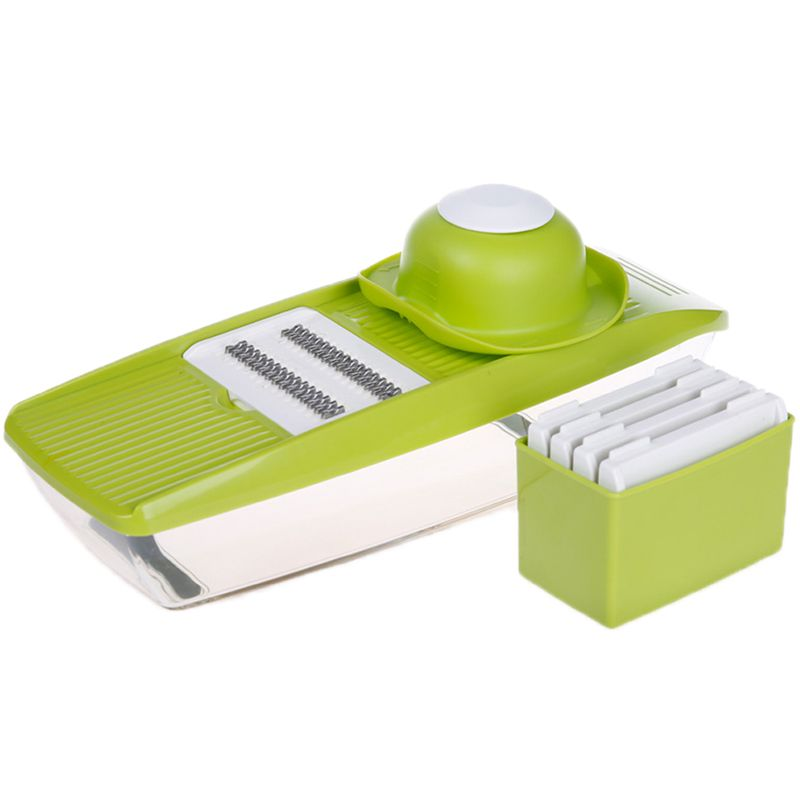Mandoline Slicer Manual Vegetable Cutter with 5 Blades Multifunctional Vegetable Cutter Potato <font><b>Onion</b></font> Slicer Kitchen Accessories