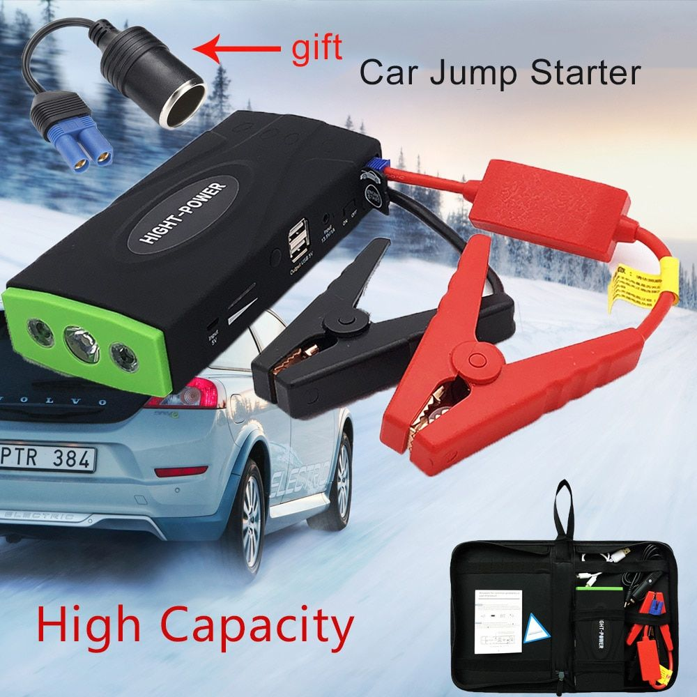 High Capacity Car Jump Starter power bank for Car Motor Vehicle Booster Starter jumper Battery Starting Device For Petrol diesel
