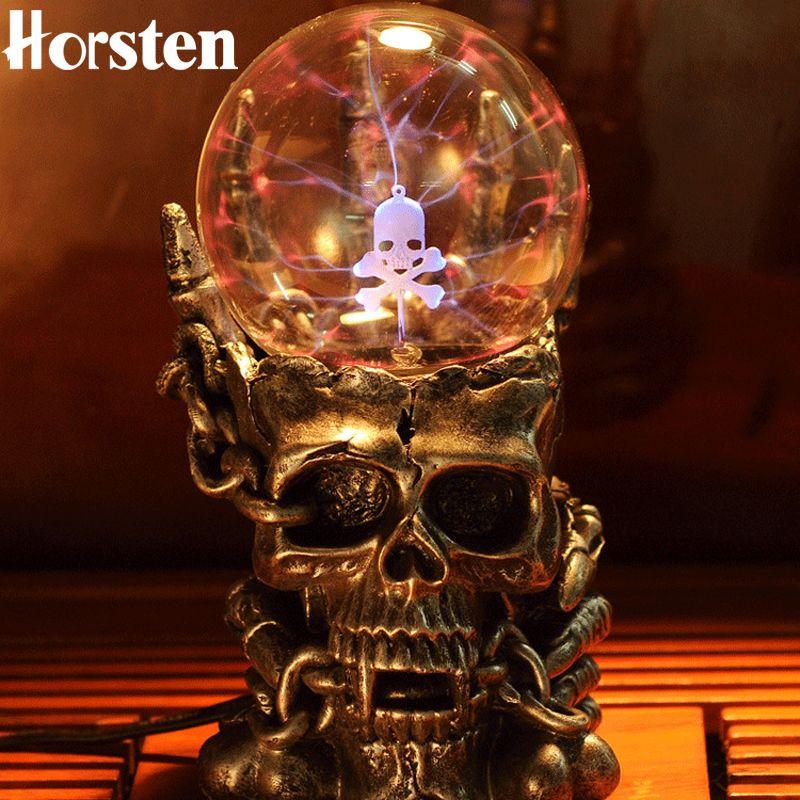 Новый Новинка свет Сверхъестественное фотоэлектрический светоизлучающих Световой Магия Плазменный статический сенсорный магический шар ...