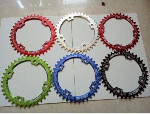 DECKAS 120BCD 36 T/38 T montagne vélo manivelle chaîne en aluminium plateau creux réparation adapté 9 S 10 S 11 S