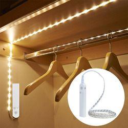 EeeToo PIR luz nocturna inalámbrica con Sensor de movimiento iluminación lámpara de pared impermeable gabinete escaleras inducción luz LED para los niños