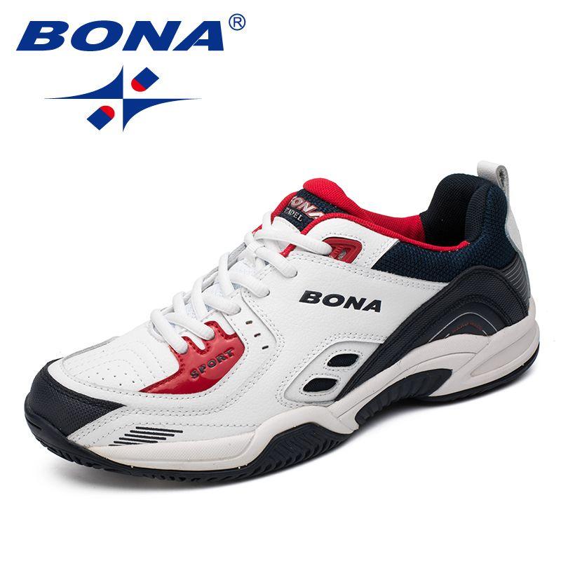 BONA Neue Populäre Art Männer Tennis Schuhe Outdoor-jogging-schuhe Turnschuhe Schnüren Männer Sportschuhe Bequeme Licht Weich Kostenloser Versand