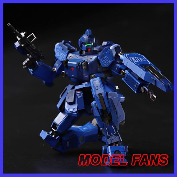 MODEL FANS IN-STOCK FUNHOBBY MB GUNDAM model Blue Destiny Unit contain led light and Phonation high quality action figure toy