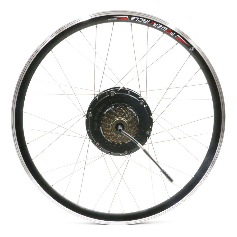 36 v 500 watt Elektrische Motor Freilauf 6 7 Geschwindigkeit Freies Rad Schwungrad Ebike Conversion Kit MTB BMX Teile Fahrrad zubehör