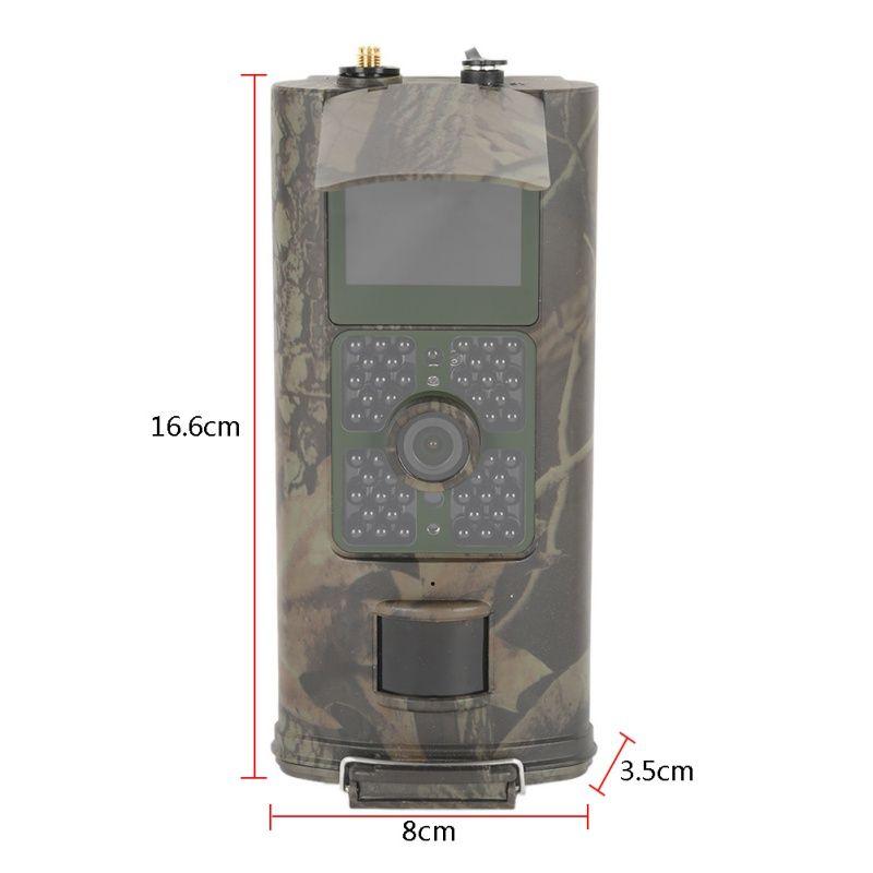 2017 heißer Verkauf Marke Jagd kamera HC700G 16MP Trail Jagdkamera 3G GPRS MMS SMTP SMS 1080 P Nachtsicht 940nm Wi