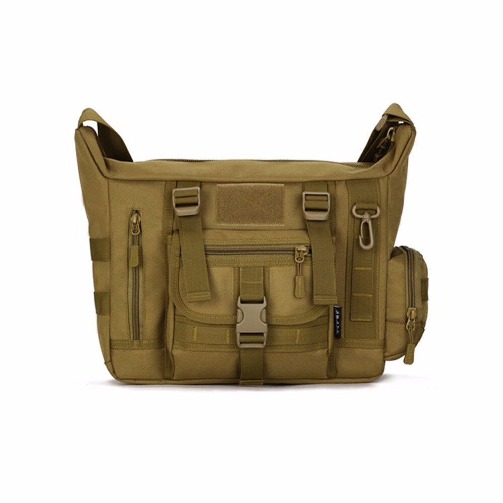 New Stylish Outdoors Military Tactics Bag ACU CP Camouflage Army Black Men Bag Camp Mountaineer Travel Duffel Messenger Bag