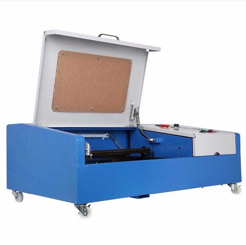 Kleine CO2 Laser Gravur Schneiden Maschine Graveur 40 W