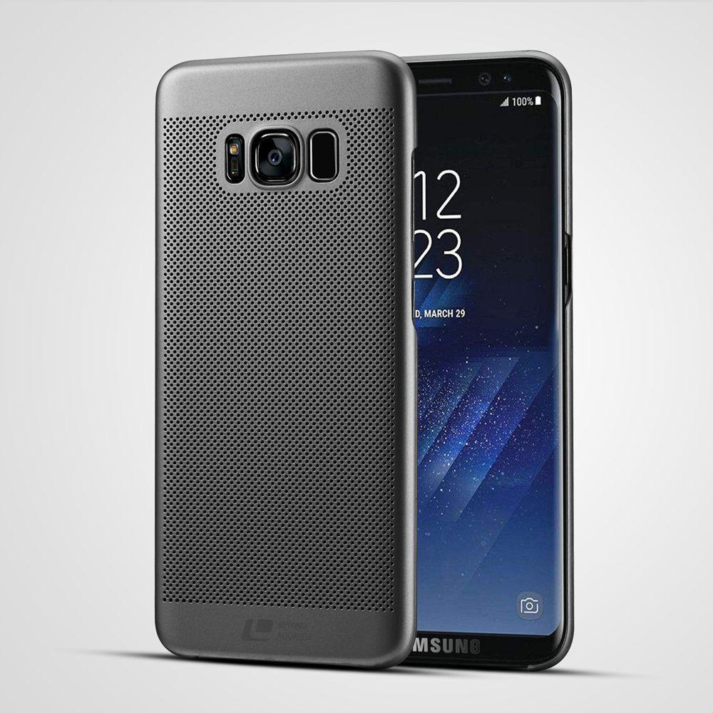 Marque de luxe ultra mince Nouvelle grille de couverture arrière pour samsung galaxy cas pour s8 s8 plus d'origine accessoires
