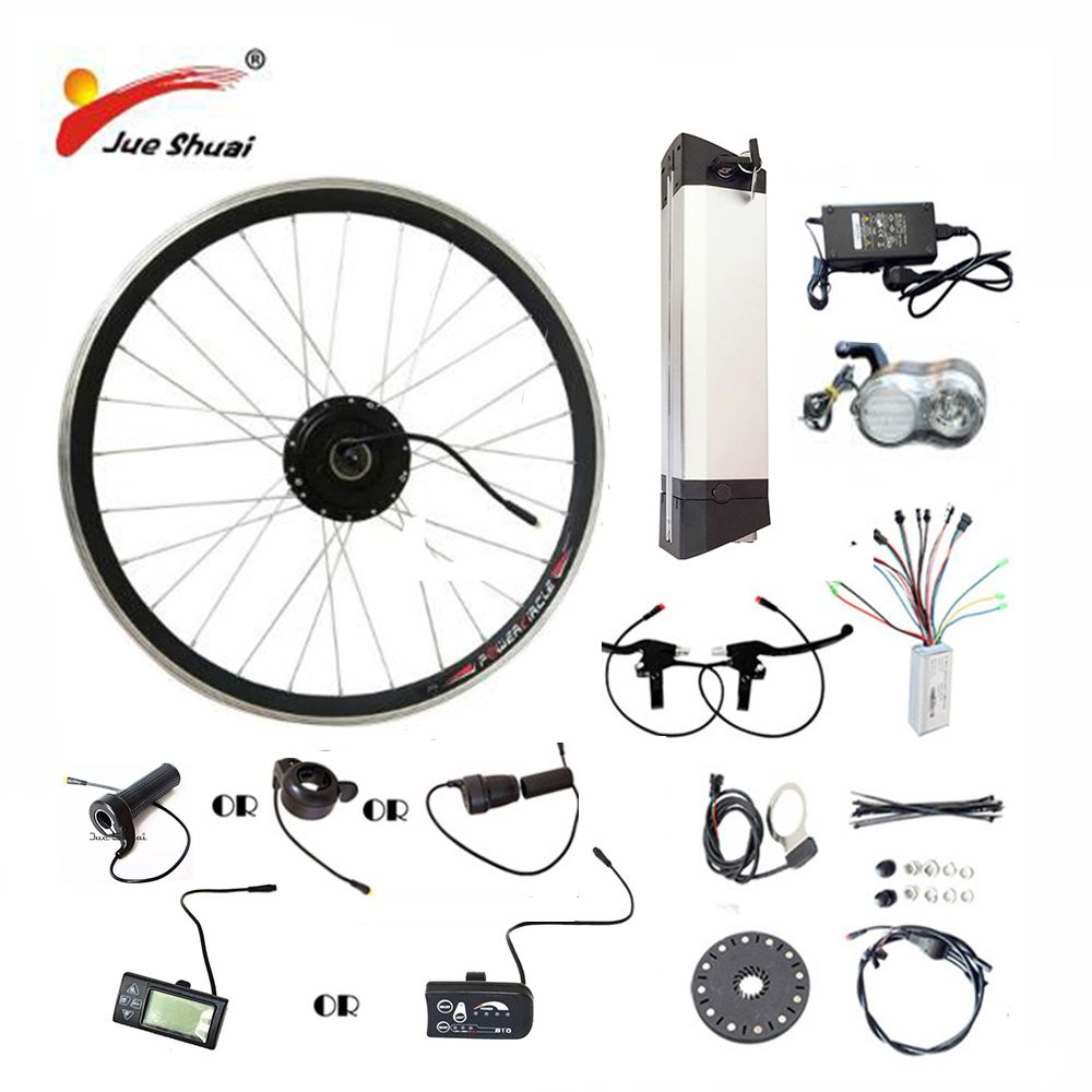 20 24 26 700C(28) Electric Bicycle Kit 36V10AH/12AH Kettle Battery Ebike Kit With 250W 350W 500W Front Wheel Motor <font><b>bicicleta</b></font>