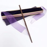 Colsplay New Arrive Metal/Iron Core Hermione Granger Wand/ Harry Potter Magic Magical Wand/ Elegant Ribbon Gift Box Packing