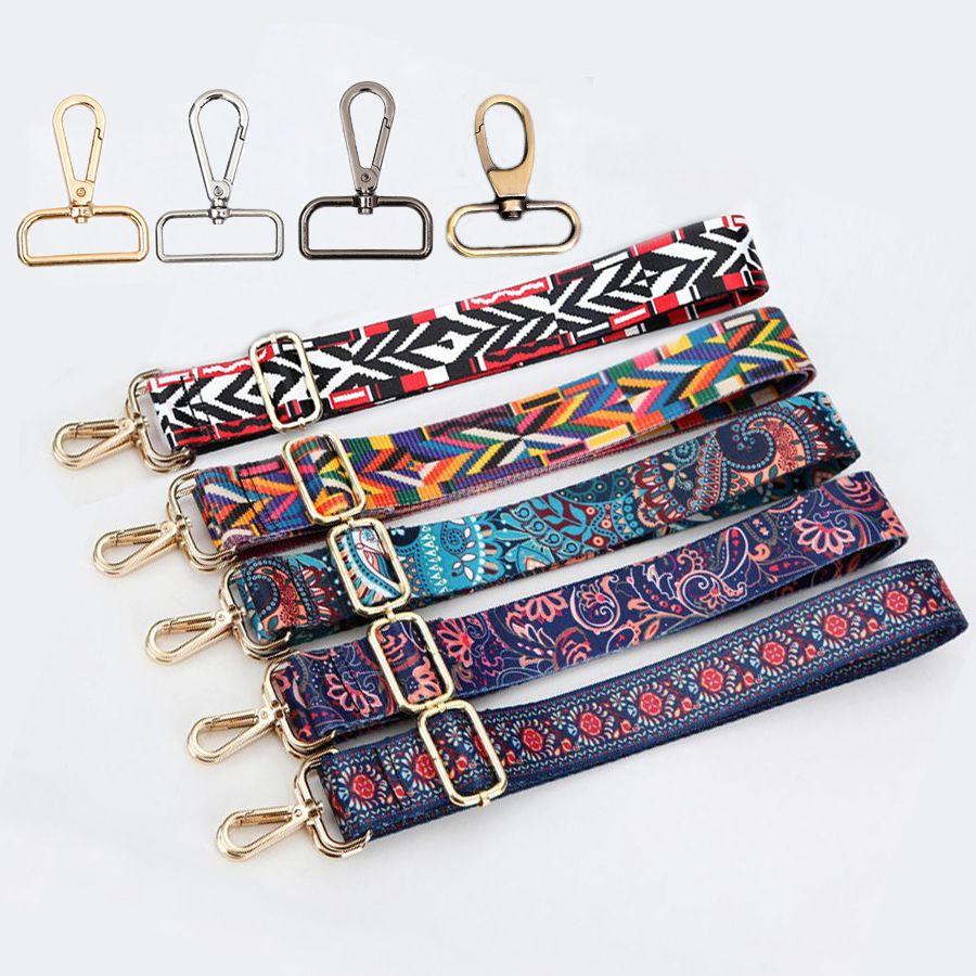 4 Metal Colors! 140cm Replacement Shoulder Bag Straps for Purses, Handbags DIY 3.8cm Colorful Bag Belts, Purse Straps Adjustable
