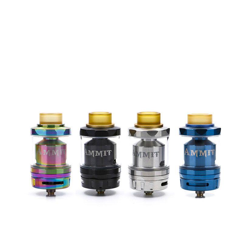 Grande vente GeekVape Ammit double bobine RTA atomiseur e-cigarette reconstructible RDTA top remplissage vape réservoir pour ijoy captain pd270 mod