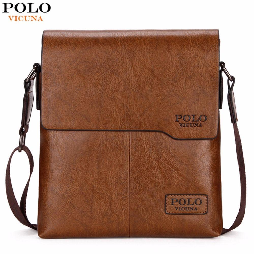 Викуньи поло Для мужчин сумка Классический бренд Для мужчин сумка Винтаж Стиль Повседневное Для мужчин Курьерские сумки Акция сумка мужска...