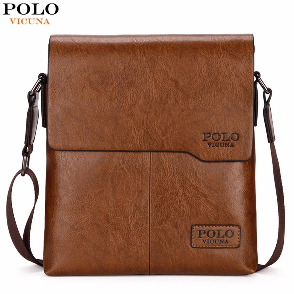 VICUNA POLO Men Shoulder Bag Classic Brand Men Bag Vintage Style Casual Men Messenger Bags <font><b>Promotion</b></font> Crossbody Bag Male Hot Sell